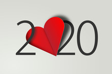 Happy New Year 2020 With Heart...