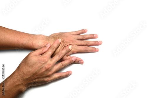 Obraz na plátne  Skin elasticity check