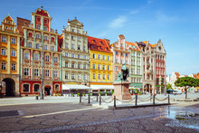 Wroclaw. Historic Tenements On...
