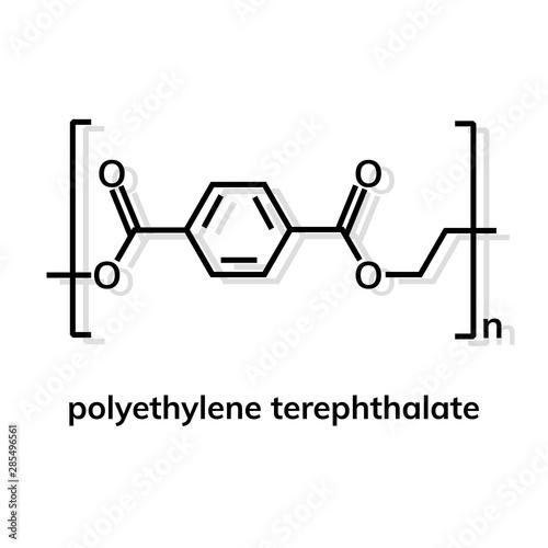 Fotomural polyethylene terephthalate polymer chemical formula