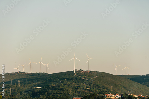 Obraz na plátne  Moinhos de vento