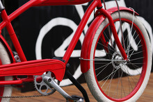 New Red Bike - Detailed View
