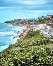 Coastal View Of Old San Juan, ...