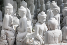 Making Marble Buddha Statue In...