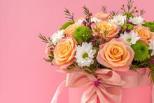 Beautiful Flower Bouquet, Isol...