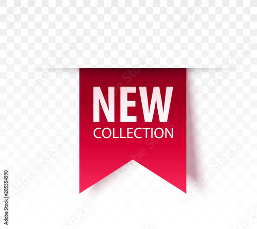 New Collection Tag. Vector Wall mural