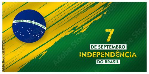 7 de setembro, independencia do brasil, (translation : 7  September, Independenc Wallpaper Mural