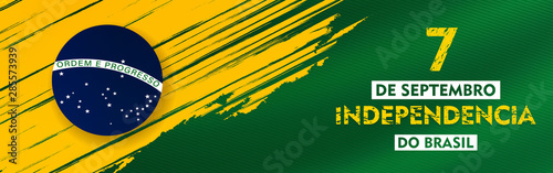 7 de setembro, independencia do brasil, (translation : 7  September, Independenc Fotobehang