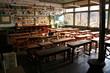 遠山郷 旧木沢小学校の風景