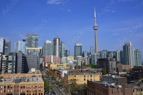 Rooftop views of Toronto Wallpaper Mural