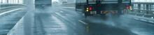 自動車・雨
