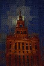 Warsaw Cityscape Exterior Art ...