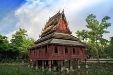 Tripitaka Library Wat Tungsrimeung