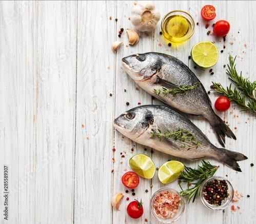 Fotografie, Obraz  Fresh fish dorado