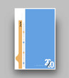 Happy new year 2020 Calendar - New Year Holiday design elements for holiday cards