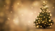 canvas print picture - festlich geschmückte  weihnachtstanne