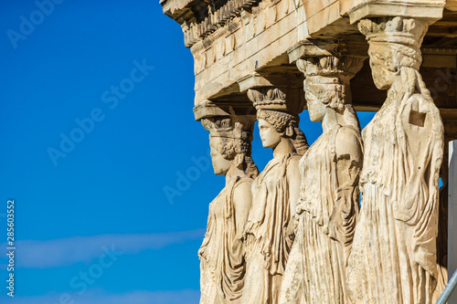 The Parthenon in Athens - Erechtheion Wallpaper Mural