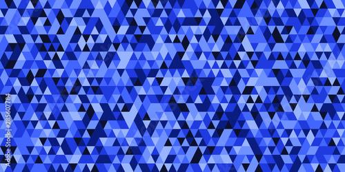 Keuken foto achterwand ZigZag Abstract geometric triangle grid blue background