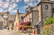 Leinwanddruck Bild - Salers, Cantal, France
