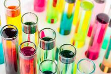 Still Life In Laboratory. Test...