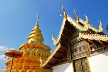 Wat Phra That Sri Chom Thong,T...