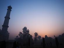 Landscape Taj Mahal. Morning S...