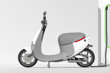 Electric Scooter Moped With El...