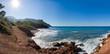 Felsiger Küstenstreifen in Spanien