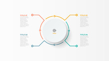 Thin Line Infographic Element ...
