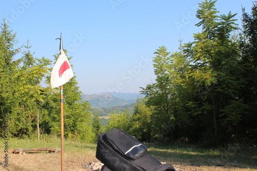 guidone scout Fototapet