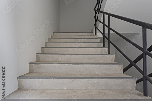 Canvas Prints Stairs Emergency stair in building