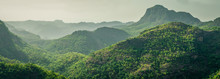 Mountains View From Priyadarshini View Point In Pachmarhi, Madhya Pradesh , India