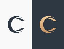 Letter C Logo Icon Vector