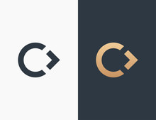 Letter C Logo Icon Vector