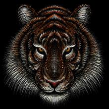 The Vector Logo Tiger For Tatt...