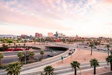 Downtown Phoenix, Arizona Sunset