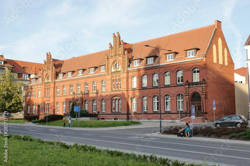 Obraz na plátne  Olsztyn - Poczta Polska