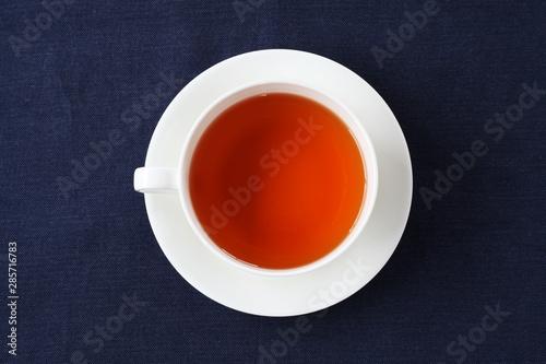 Fototapeta 紅茶 ホット ティー カップ テーブル obraz