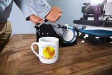 Printing On Mugs In Workshop