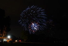 Fire Works Of 4th Of July