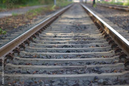 Obraz Bahn schienen - fototapety do salonu