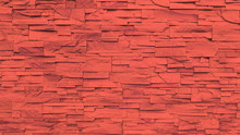Red Sandstone Wall Texture And...
