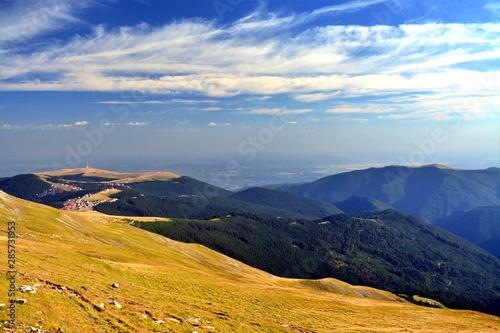 Fototapeta the Transalpine road - Romania obraz na płótnie