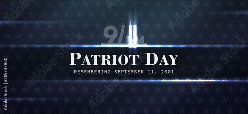Papel de parede  patriot day background, September 11, we will never forget, united states flag p