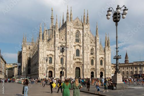 Autocollant pour porte Milan Duomo of Milan City