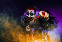 Clown With Lantern