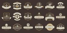Oktoberfest Badges And Labels ...