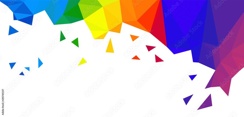 Fototapety, obrazy: sfondo, arcobaleno, colorato, multicolore, colori, fantasi