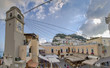 Die berühmte Piazzeta (Piazza Umberto) im Zentrum von Capri, Italien