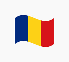 Romania Flag Vector Illustration